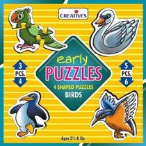 Primeros Años Puzzle - Aves Creativo Puzzles Aprende