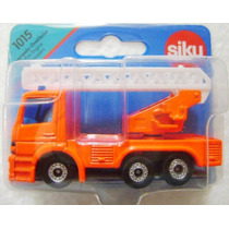 Camión De Bomberos Esc. 1/72 Siku. Nuevo!
