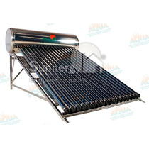 Calentador Solar 215 Litros Acero Inoxidable