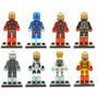 Set Iron Man Legion De Hierro Slh Minifiguras Para Armar