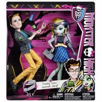 Muñeca Monster High Frankie Stein Y Jackson Jekyll Mattel