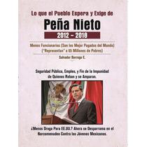 Peña Nieto Lo Que El Pueblo Espera Salvador Borrego Gratis P
