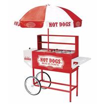 Carro Para Hotdogs Carrito De Salchichas Retro