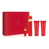 Set 360° Red 4pzs 100 Ml Edp Spray + Body Lotion 90 Ml + Sho