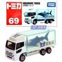 Tomica Camion Metalico 1/56 Isuzu Aquarium Truck Shark