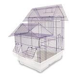 Jaula Toledo Para Aves Pájaros Mascotas 35x28x46