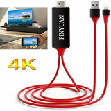 Pinyuan - Cable Adaptador Compatible Con iPhone iPad A Hdmi