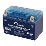 Bateria Motoneta Ytx7a-bs Agm Kaijie Ds150 Ws150 Gs150 Dm150