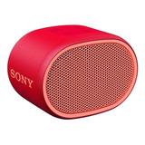 Bocina Sony Extra Bass Srs-xb01 Portátil Con Bluetooth Roja