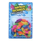 100 Globos Para Agua Water Balloon Alberca Jardín Diversión