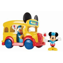 Autobús Escolar De Fisher-price Disney Mickey Mouse Clubhous