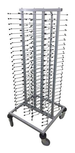 Edesa cpp 100 porta platos transportar rack carro wwrac en - Rack para platos ...