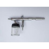 Aerografo Profesional Adir 698 Metalico Doble Accion +frasco