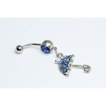 Piercing Sombrilla Azul Pie63