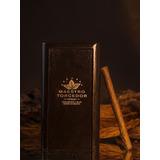 Caja De Madera Y 25 Minipuros Aroma Maestro Torcedor