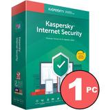 Antivirus Kaspersky Internet Security Licencia 1 Pc 1 Año