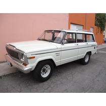 Jeep Wagoneer Alpina 1986 Totalmente Original