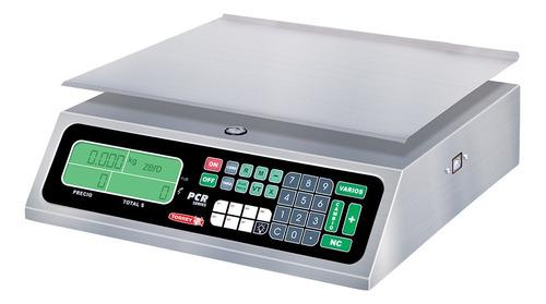 Báscula Comercial Digital Torrey Pcr 40 Kg 110v/220v Plateado