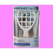 Kit Sport Wii 7 En 1 Tenis, Baseball, Golf Y Mas