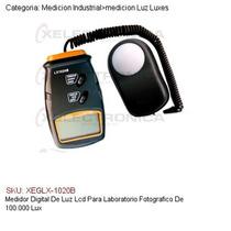 Medidor Digital Luz Lcd Laboratorio Fotografico 100,000 Lux