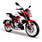 Moto Italika Vort-x300 Rojo / Blanco