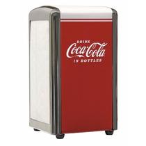 Servilletero Dispensador De Servilletas Coca Cola De Lujo