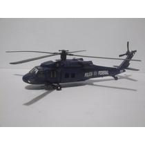 Patrulla Helicoptero Black Hawk De La Policia Federal 1:60