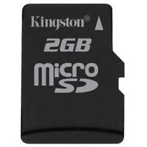 Memoria Micro Sd 2 Gb Kingston Celulares Camaras Digitales