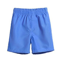 Solid Traje De Baño Swim Trunks City Temas Chavales Con Cint