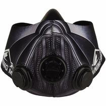 Elevation Training Mask 2.0 Dark Invader Con Valvulas Negras