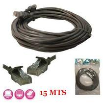 Cable Ethernet Conexión De Red Ideal Para Internet 15 Mts