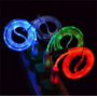 Cable Cargador Usb Luminoso Led Para Iphone 3 4 Ipad Ipod