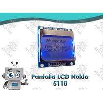 Pantalla Lcd 5110 Nokia Arduino Pic