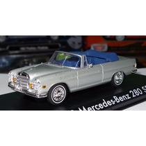 1:43 Mercedes Benz 280 1969 Convertible Hangover Greenlight