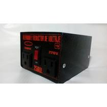 Elevador Y Reductor De Voltaje! 110-220 Vlts! 250wt!
