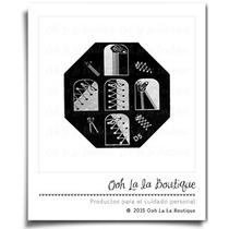 Disco Para Estampado De Uñas Agujetas D5 #0015