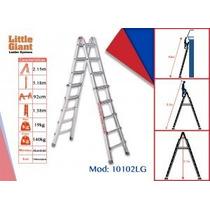 Escalera De Aluminio Telescópica Little Giant, Modelo 10102