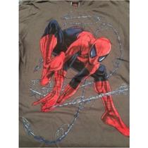 Playera Marvel Spiderman Avengers Nueva Talla Grande