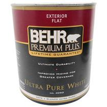 Pintura Vinílica Para Exterior Flat Blanco Ultra Puro