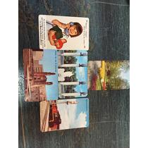 Antiguos Calendarios De Bolsillo1966 Ferrocarriles Nacional