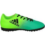 12e1d61d476e9 Tenis De Fútbol Rápido adidas X 16.4 Tf Verde Envío Gratis