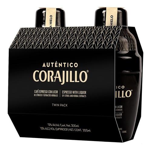 Auténtico Corajillo Duopack 200ml