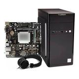 Computadora Pc Cpu Intel Dual Core 500gb 4gb Diadema Hdmi