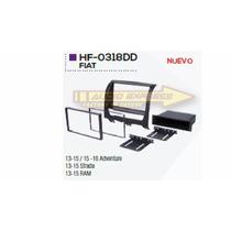 Base Frente Adaptador Estereo Fiat Ram 2013 2015 Hf-0318dd