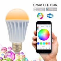 Flux Wifi Led Luz Bombilla Multicolor Telefono Inteligente