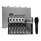 Mezcladora Soundtrack 7 Canales Usb Estuche Microfono
