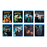 Harry Potter Saga 1 - 8 Peliculas Originales Blu-ray