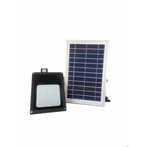 Lampara Luminario Con Panel Solar Batería Recargable 120 Led