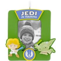 Adorno Portarretrato Árbol Navidad Star Wars Jedi Yoda Nuevo