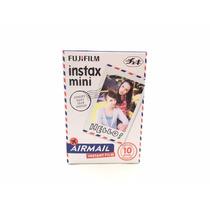 Fujifilm Instax Mini Paquete 10 Hojas Modelo Air Mail Carta